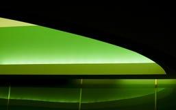 Extracto verde y negro   Imágenes de archivo libres de regalías