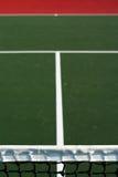 Extracto vertical del campo de tenis fotos de archivo