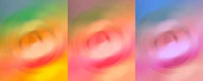 Extracto vibrante para la decoración Art Painting de la pared Fotos de archivo