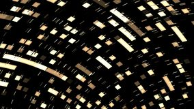 Extracto video de la animación del ordenador stock de ilustración