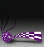 Extracto violeta libre illustration