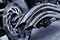 Extractor de la motocicleta Fotos de archivo libres de regalías