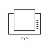Extractor hood icon Stock Images