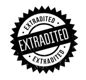 Extradited rubber stamp. Grunge design with dust scratches. Effects can be easily removed for a clean, crisp look. Color is easily changed Royalty Free Stock Image