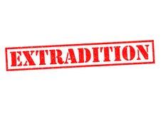 extradition ilustração stock
