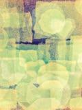 Extrahieren Sie den handgemachten Hintergrund eine Collage. Stockfoto