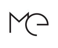 Extrahieren Sie MICH Logo Concept Lizenzfreie Stockfotografie