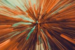 Extrahieren Sie unscharfe Landschaft mit Bewegungseffekt, für ein Geschwindigkeit mot Stockbilder