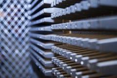 Extrahierter Maschineriehintergrund Stockbild