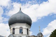 Extrahjälper av den härliga ortodoxa kyrkan Arkivfoto