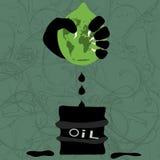 Extraktion des Schmieröls Stockbilder