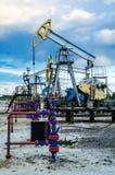 Extraktion des Schmieröls in Westsibirien, Russland Stockbilder