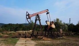 Extraktion des Schmieröls in Westsibirien, Russland Stockfoto