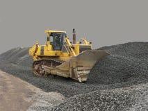 Extraktion und Laden der Kohle durch Bagger Lizenzfreies Stockbild