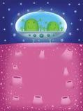 Extranjero dos en UFOs Imagenes de archivo