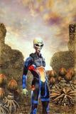 Extranjero en el planeta del homeworld Foto de archivo libre de regalías