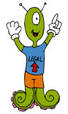 Extranjero legal libre illustration