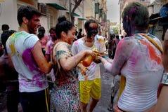 Extranjeros en la India Fotografía de archivo libre de regalías