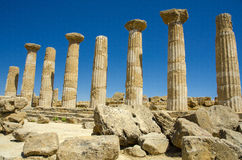 Temple of Hercules - Sicily Royalty Free Stock Photography