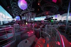 Extraordinary luxury interior of bar Royalty Free Stock Photo