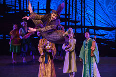 "Extraordinary skill-Dance drama ""The Dream of Maritime Silk Road"" Stock Photography"