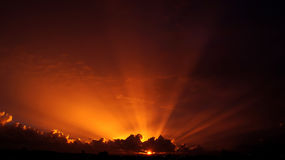 Extraordinary Sun ray. The sun ray is extraordinary . it made people feel peaceful.by looking at it , you feel it is amazing and powerful Stock Photo