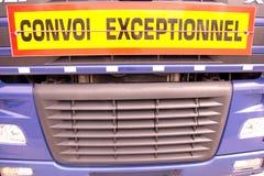 Extraordinary transport Stock Image
