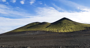 Extraordinary volcanic scenery in Iceland Stock Photography