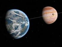 extrasolar система Стоковая Фотография RF