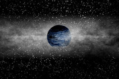 Extrasolar Planet. Imaginary New Born Extrasolar Planet Royalty Free Stock Image