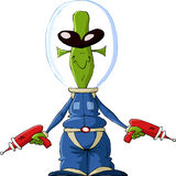 Extraterrestre Image libre de droits