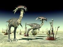 Extraterrestrial życie Zdjęcia Royalty Free