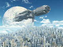 Extraterrestrial Civilization Royalty Free Stock Image