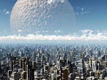 Extraterrestrial civilization Stock Images