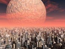 Extraterrestrial cywilizacja royalty ilustracja