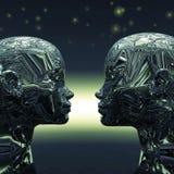 Extraterrestrial due Fotografia Stock Libera da Diritti