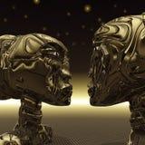 Extraterrestrial due Fotografie Stock Libere da Diritti