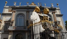Extravagance in the image of the Salvador Dali museum in Figuerez in Spain Stock Image