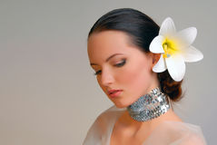 Extravagant bride Royalty Free Stock Photos