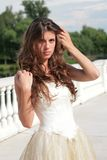Extravagant girl Royalty Free Stock Photos