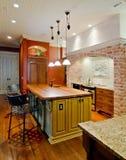 Extravagant kitchen Stock Images