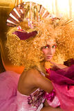 Extravagant make-up Stock Photos