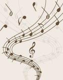 Extravaganz von Musik Stockbild