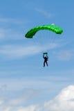 Extreem sports. parachuting Stock Images