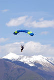 Extreem sports. parachuting Royalty Free Stock Photography