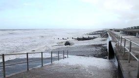 Extreem weer - wind stock videobeelden