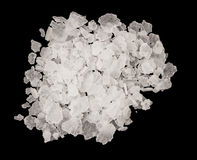 Extrem closeup av salt arkivbild