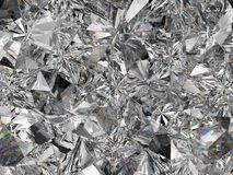 Extrem closeup och kalejdoskop för diamantstruktur Royaltyfria Bilder