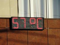Extrem heißer Tag Lizenzfreie Stockfotos