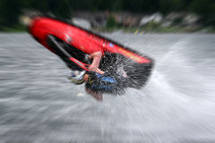 extrem personlig watercraft Arkivfoto